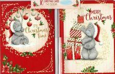 Me to You Christmas Cards ~ 2 Designs pk 10 Tatty Teddy ~ Free P&P