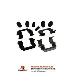 Frt Disc Brake Hardware Kit 13425Q Carquest