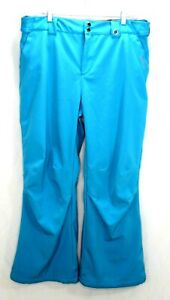 Gerry Women's Snow-Tech Pants Boarder Ski Pants Size XL Aqua Teal