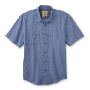 Outdoor Life Life Men's Button-Front Shirt - Cotton Large New
