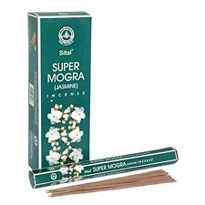 Sital Super Mogra (Jasmine) Incense Sticks (1 Packs = 20 Sticks)