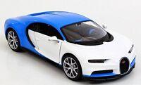 BUGATTI CHIRON 1:24 Scale Diecast Toy Car Model Miniature Blue