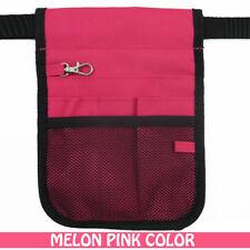 Nurse Vet  Physio Teacher Medical Professions Waist Belt Pouch Bag - Melon Pink