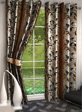 Set of 2 - Elegance Readymade Designer Polyester 7FT Long Door Curtain