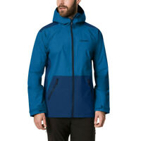 Berghaus Mens Deluge Pro 2.0 Jacket Top - Blue Sports Outdoors Full Zip Hooded