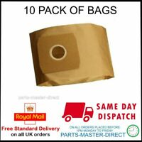 FITS DAEWOO RC300 RC310 RC320 RC350 RC370 RC700 VACUUM CLEANER DUST BAGS 10 PACK