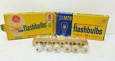 Lot of 24 Vintage GE  M2 / M2B Flash Bulb Camera Photography NOS