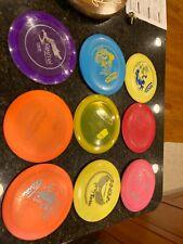 Used lot of 9 discs