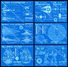 Star Wars Blueprints - 6 Poster Set