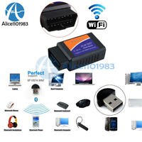 ELM327 WiFi OBDII OBD2 Car Diagnostic Scanner Code Reader Tool for iOS&Android