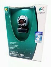 Logitech Webcam C250 - RightSound Mic, USB 2.0, 1.3MP Photos, etc. - Brand New