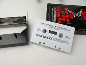 The Cardinal of the Kremlin by Tom Clancy (1988, Audio Cassette, Abridged...
