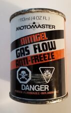 "RARE ""CANADIAN TIRE CORP. MOTOMASTER GAS-LINE ANTI FREEZE"" 4 OZ EMPTY TIN"
