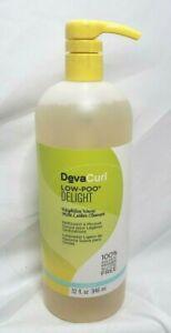 Deva Curl Low Poo Delight 32 Fl Oz 946 ml Weightless Waves Paraben Free Lather