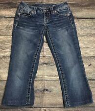 Miss Me bootcut Jeans JP5510B Floral Design Pockets Size 26