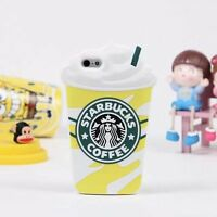 Starbucks 3D Silicone Coffee Cup Phone Case Cover For iPhone 5S 6Plus+Samsung S8