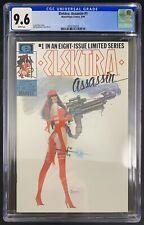 Elektra: Assassin #1 CGC 9.6 8/86 3936135018 - Miller story; Sienkiewicz art