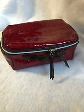 Lancôme makeup Cosmetic bags Red Large Travel Storage Toiletries