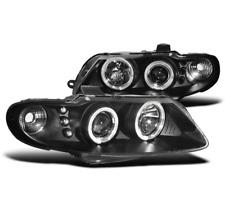 2004 2005 2006 PONTIAC GTO COUPE 2DR V8 HALO LED PROJECTOR HEADLIGHTS BLACK PAIR