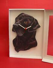 Black Labdador Dog Wooden Wall Clock Pet Vet Gun Dog Mother Christmas Gift NEW