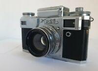 Rare Kiev-4A USSR Rangefinder Camera Contax Clone w/ JUPITER-8M 50mm f:2 Lens
