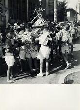 Photo Albert Robillard Argentique Japon Tokyo Fête Matsuri Vers 1960