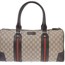 GUCCI Sherry line beige bags 805000926779000