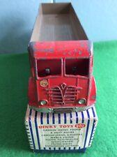 Dinky Toys 901 Foden Diesel 8 Wheel Wagon Boxed - Unusual Sticker Below Screen