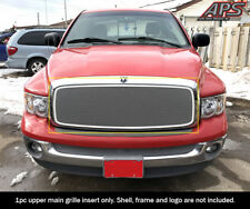 Fits 2002-2005 Dodge Ram 1500 /2500 /3500 Stainless Steel Chrome Mesh Grille