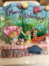 Disney traditions storybook merry unbirthday Alice in wonderland, Jim shore