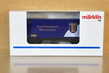 MARKLIN MÄRKLIN C0153 SONDERMODELL STAATSWEINGUT WEINSBERG CONTAINER WAGON