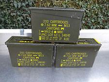 US Army + 3 Stück Munitionskiste - Gr.1 +  klein  +   TOP!!!!