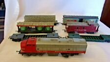 OO Scale Tri-Ang Diesel Locomotive #4008 & 6 Cars For Parts Restoration England