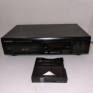 Vintage Pioneer PD-M406 6 Disc CD Player W/  Cartridge/Sleeve - TESTED WORKS