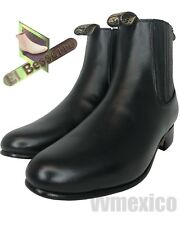 CHELSEA HALF BOOTS ANKLE LEATHER BOOTS WESTERN WEAR ** ALL SIZES botin de charro
