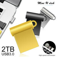 2TB USB 3.0 Flash Drive Memory Pen Stick Mini Metal Storage U Disk for PC Laptop