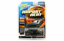 JOHNNY LIGHTNING 1:64 IMPORT HEAT 1990 NISSAN 240SX CUSTOM BLACK JLCP7130-24