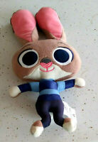 "Adorable Disney Zootopia Rabbit Officer Judy Hopps 9"" Plush Preown Good"