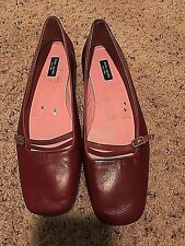 Kate Spade Leather Buckle Belt Mary Jane Fashion Flats Footwear Italy 8 B