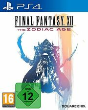 Final Fantasy 12 XII The Zodiac Age - PS4 Playstation 4 - NEU OVP