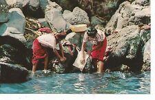 Santiago Atitlan Guatemala Washerwomen Postcard c1960