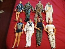 "Lot of 8 G.I. Joe, Max Steel and Outdoor Sportsman 12"" Action Figures"