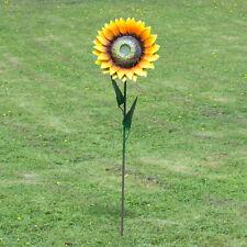 Large 110cm Sunflower Garden Ornament Stake Outdoor Flower Sculpture Decoration