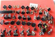 Warhammer orcos y goblins Trabajo Lote de figuras de Games Workshop Repuestos del ejército clásico