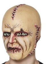 Halloween Bloody Horror Stitch Face Gory Freak Mask