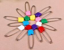 5 épingle à nourrice de sureté broche couleur 4 cm création bijoux scrapbooking