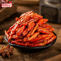 210g*2. Dried Pepper Chili Crispy Thai Snack Seasoning Delicious Yummy