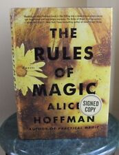 """Rules of Magic"" by Alice Hoffman - Signed, Special Edition, 1st"