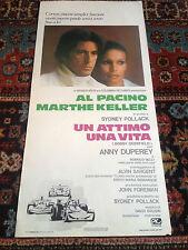 Un Attimo Una Vita locandina poster Al Pacino Marthe Keller Driver Formula 1