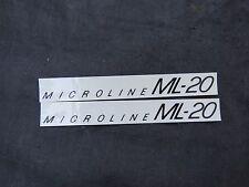 REDLINE DECALS MINI MICROLINE ML20 BMX STICKERS VINTAGE NOS